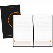 AT-A-GLANCE® Perfect-Bound Planning Notebook Lined with Monthly Calendars, 5 x 8 1/4 - 80612405