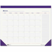 House of Doolittle™ Nondated Desk Pad Calendar, 22 x 17, Blue - 464