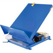 Unitilt Single Scissor Lift & Tilt Table 4000 Lb. Capacity UNI-5448-4-BLU-460-3