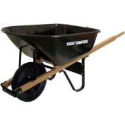 Ames True Temper® J6K 6 Cubic Foot Steel Medium Duty Wheelbarrow W/ Knobby Tires