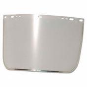 Face Shield Visor, Clear, Bound, Plastic/Aluminum, 3440-B-CL