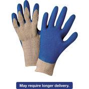 Premium Knit Gloves, W/Blue Latex Palm, Anchor 6030-L, 12 Pairs