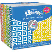 Kleenex® Facial Tissue Pocket Packs, 3-Ply, White - 11974
