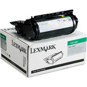 Lexmark 12A7465 Extra High-Yield Toner, 32000 Page-Yield, Black, OEM