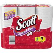 Scott® Choose-A-Size Mega Roll, White, 102/Roll, 6 Rolls/Pack, 4 Packs/Carton - 16447