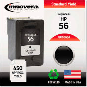 Innovera® Remanufactured C6656AN (56) Ink, 450 Page-Yield, Black