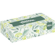 Kleenex® Naturals Facial Tissue, 2-Ply, White, 125/Box, 48 Boxes/Carton - 21601