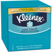 Kleenex® Cool Touch Facial Tissue, 2-Ply, 50 Sheets/Box - 29388BX
