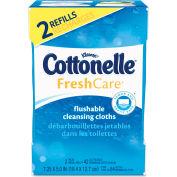 Cottonelle® Fresh Care Flushable Cleansing Cloths, 3-3/4 x 5-1/2, 84/Pack - 35970