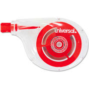 "Universal® Correction Tape, Sidewinder, Non-Refillable, 1/4"" x 394"", 10/Pack"