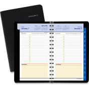 AT-A-GLANCE® QuickNotes Daily/Monthly Appointment Book/Planner, 8.5 x 5.5, Black, 2022
