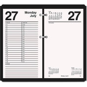 AT-A-GLANCE® Large Desk Calendar Refill, 4 1/2 x 8, White, 2021
