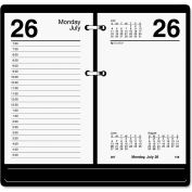 AT-A-GLANCE® Recycled Desk Calendar Refill, 3 1/2 x 6, White, 2019
