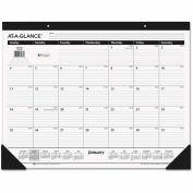 AT-A-GLANCE® Classic Desk Pad, 22 x 17, 2016