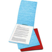 "ACCO Presstex Report Cover, Prong Clip, Letter, 2"" Capacity, Light Blue"