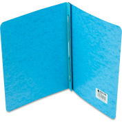 "ACCO Presstex Report Cover, Prong Clip, Letter, 3"" Capacity, Light Blue"