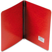"ACCO Presstex Report Cover, Side Open, Prong Clip, Letter, 3"" Capacity, Red"