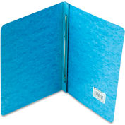 "ACCO Pressboard Report Cover, Prong Clip, Letter, 3"" Capacity, Light Blue"