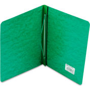 "ACCO Pressboard Report Cover, Prong Clip, Letter, 3"" Capacity, Dark Green"