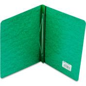 "ACCO Pressboard Report Cover, Prong Clip, Letter, 3"" Capacity, Dark Green"