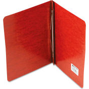 """ACCO Pressboard Report Cover, Prong Clip, Letter, 3"""" Capacity, Red"""