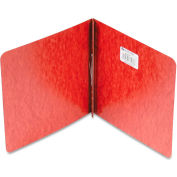 """ACCO Pressboard Report Cover, Prong Clip, 8-1/2 x 8-1/2, 2"""" Capacity, Red"""