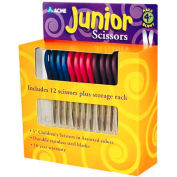 "Westcott 13140 Kids Scissors, 5"" Blunt, Pack of 12, Assorted"