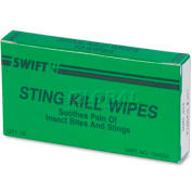 PhysiciansCare 51002 First Aid Sting Relief Pads, Box of 10
