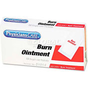 PhysiciansCare 51014 Burn Ointment Packets, Box of 10
