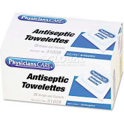 PhysiciansCare 51028 First Aid Antiseptic Towelettes, Box of 25
