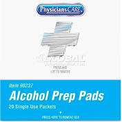 PhysiciansCare 90237 XPRESS First Aid Kit Refill, Alcohol Pads, 40/box
