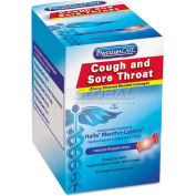 PhysiciansCare 90306 Cough and Sore Throat, Cherry Menthol Lozenges, Individually Wrapped