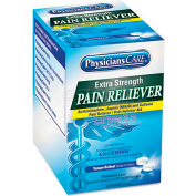 PhysiciansCare ACM90316 Extra-Strength Pain Reliever, 50 2-Packs/Box