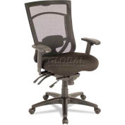 Alera® EX Series Mesh Multifunction High-Back Chair, Black