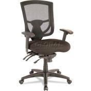 Alera® EX Series Mesh Multifunction Mid-Back Chair, Black