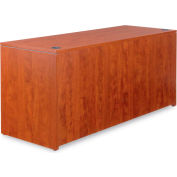 "Alera ALEVA256624MC Valencia Series Credenza Shells, 65""W x 23-3/5""D, Medium Cherry"