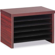 "Alera ALEVA316012MY Valencia Under Counter File Organizer Shelf, 15-3/4""W x 10""D x 11h,Mahogany"