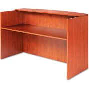 """Alera ALEVA327236MC Valencia Series Reception Desk w/Counter, 71""""W x 35-1/2""""D x 42-1/2h"""