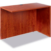 "Alera ALEVA354224MC Valencia Series Reversible Return/Bridge Shell, 42""W x 23-5/8""D, Medium Cherry"