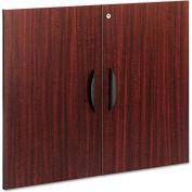 """Alera ALEVA632832MY Valencia Series Cabinet Door Kit For All Bookcases, 31 1/4"""" x 25 1/4"""", Mahogany"""