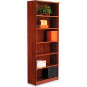 "Alera ALEVA638232MC Valencia Series Bookcase, 6 Shelves, 31-3/4""W x 14""D x 80-3/8""H, Medium Cherry"