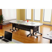 Alera® Valencia Series Training Table Top, Rectangular, 48w x 24d