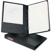 "Avery® Legal Three-Ring Durable Binder w/Round Rings, 1"" Capacity, Black"