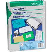 Avery® Pres-A-Ply Laser Address Labels, 1 x 2-5/8, White, 7500/Box
