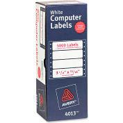Avery® Dot Matrix Printer Address Labels, 1 Across, 15/16 x 3-1/2, White, 5000/Box