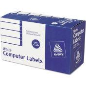 Avery® Dot Matrix Printer Address Labels, 1 Across, 1-15/16 x 4, White, 5000/Box