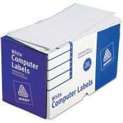 Avery® Dot Matrix Printer Shipping Labels, 1 Across, 2-15/16 x 5, White, 3000/Box