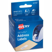 Avery® Thermal Printer Labels, Address, 1-1/8 x 3-1/2, White, 260 Labels/Box