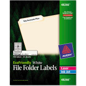 Avery® EcoFriendly Labels, 2/3 x 3-7/16, White, 750/Pack
