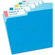 Avery® Extra-Large 1/3-Cut File Folder Labels, 15/16 x 3-7/16, White/Assorted, 450/Pk